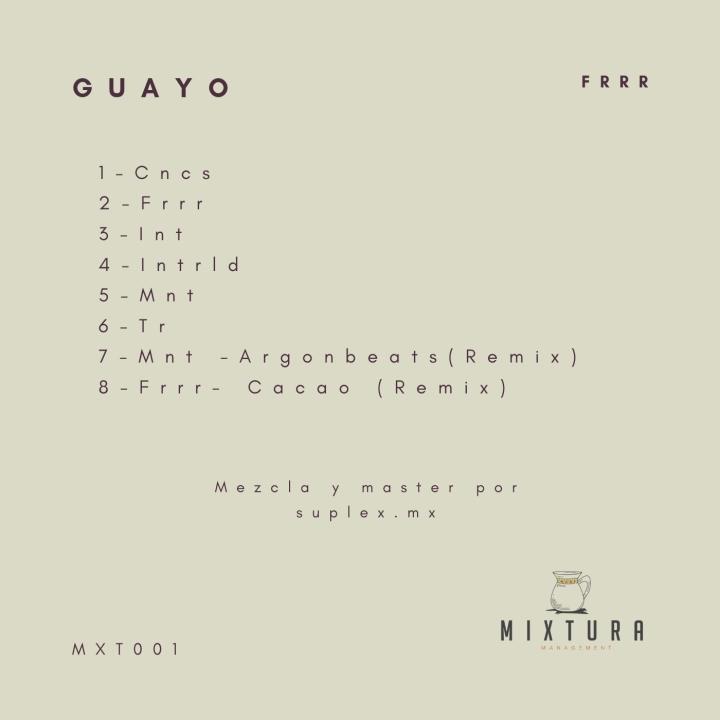 Guayo-Frrr Contraportada